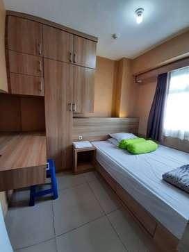 Ready apartemen harian 2bedroom green pramuka