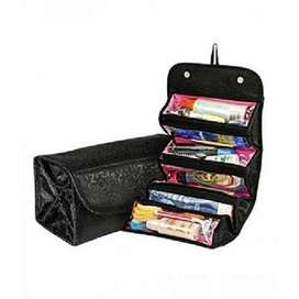 Roll n Go Makeup Cosmetic Bag for Travel
