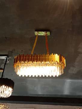 Lampu hias kristal terlaris di Medan