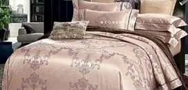 Sprei Set Bedcover Sutra Import Mewah, berbagai motif dan ukuran