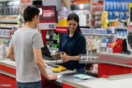 Cashier and Salesman