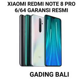 Xiaomi Redmi Note 8 Pro 6/64 Grey Garansi Resmi Free tglass + case