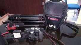 Canon Eos M50 kondisi mulus pemakaian 1 Tahun