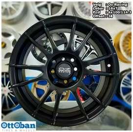Velg mobil Brio Yaris Jazz murah Oz Racing R16X7 h8x100/114.3 ET 38