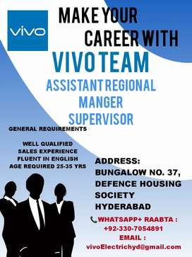ASSIST. REGIONAL MANAGER & SALES EXECUTIVE
