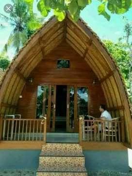 Rumah Lumbung Cocok untuk Villa