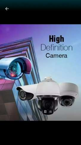 CCTV Camera with installation package in lahore