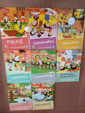 Buku tema kelas 1-6