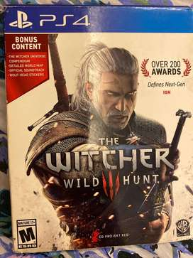 Ps4 Witcher 3 special edition