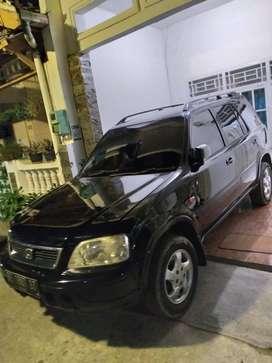 Honda CRV matic tahun 2001 surat dan faktur lengkap