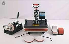 Cup, mug, plate cap printing sublimation machine