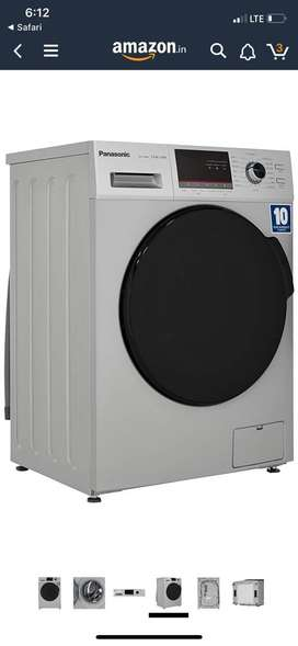 नवरात्रि ऑफर PANASONIC 7kg Front Load Fully Automatic Washing Machine