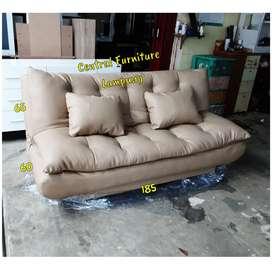 Sofabed dakron empuk dan montok berkualitas