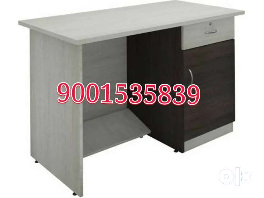 New wooden study table with cabinet drawer kids furniture