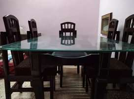 6 Seater Huge dining table