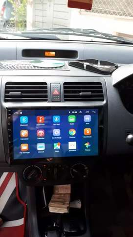 Suzuki swift Android player with free  k sat