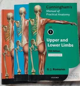 Cunningham manual of practical anatomy