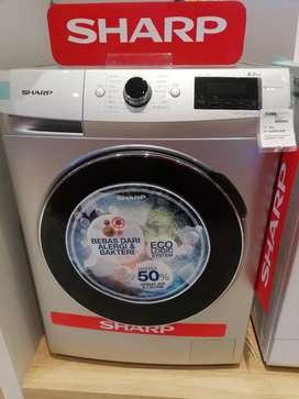 Mesin Cuci SHARP 8,5Kg Cicil Mudah Pake Ktp Free 1xCicilan Non Cc