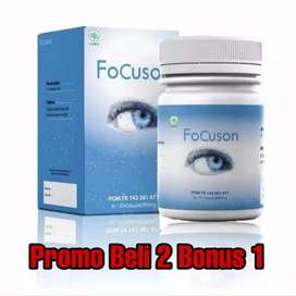 FoCuson 2 Bonus 1 Obat Mata Herbal katarak