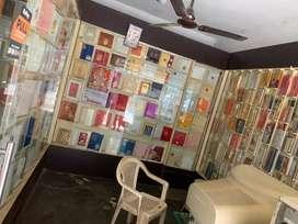 Wedding card showroom racks and front glass