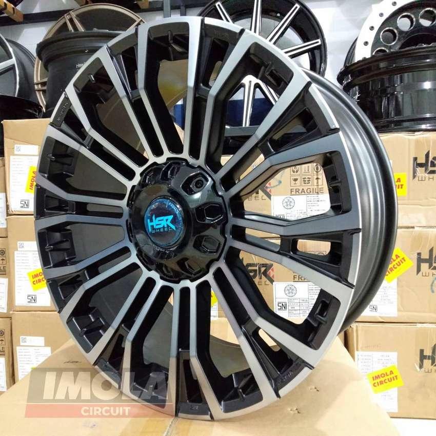 Pelek mobil racing Hilux Dc r20 HSR wheel lubang baut 6x139,7 murah