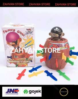 CRAZY PIRATE ROULETTE Game running man 5858A / ZAHVAN STORE
