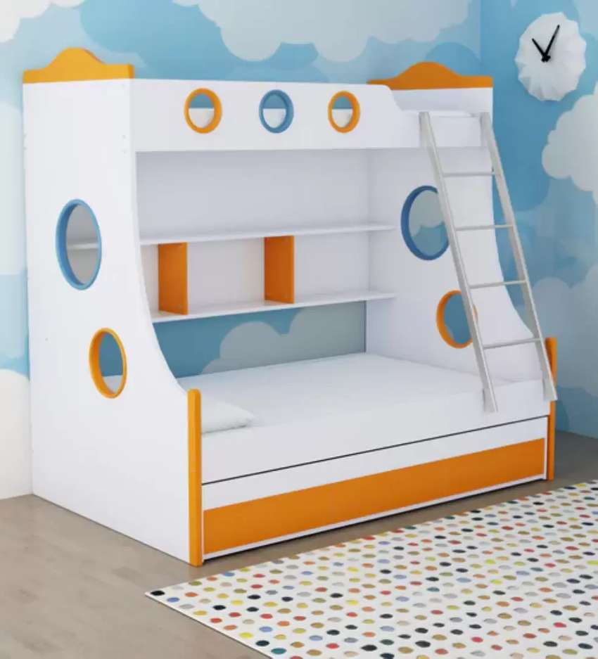 Check Pics Double Bunk Bed in Reasonable Price 0