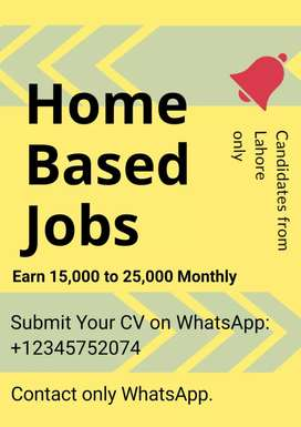 Home Based Jobs for Students in Lahore (Contact WhatsApp)