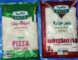 Dalya Impored Halal shareded pizza cheese