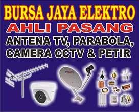 Antena TV sinyal pasang baru