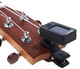 JOYO Tuner Gitar, Bass, Biola Sangat Sensitif Portabel Rotatable 360
