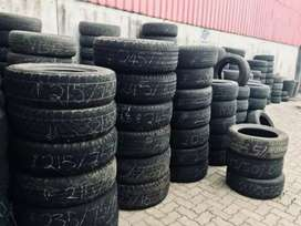 Good Quality Used Tyres available for all Cars and Bike