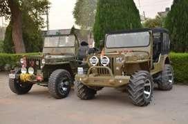 Modified open Jeep Wrangler Thar