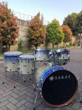 Drumset SAKAE Road Anew