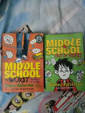 Middle School Book - Top ten bestseller novel by James Patterson