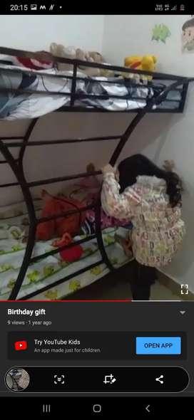 Bunk bed ..best for kid n elder too..