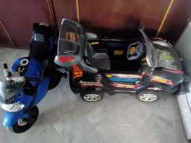 Used kids charging car in good condition for sale in DHA-II Islamabad