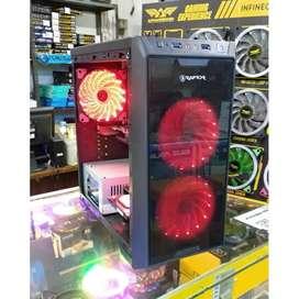 Raptor Black Casing Komputer Mini ATX