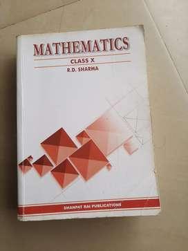 Mathematics class 10 r d sharma