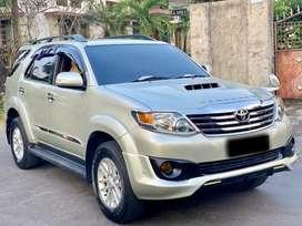 Toyota Fortuner VNT TRD Diesel 2014 AT Matic Tangan Pertama Low KM