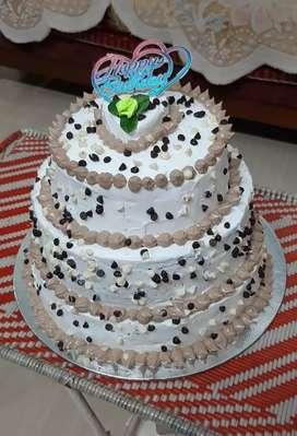 Cake threetyre 3KG Chocolate