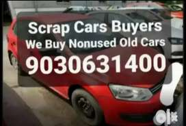 Scrap/Nonused/Cars//We/Buy