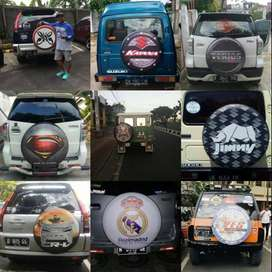 Cover/Sarung Ban Serep Mobil Everest/Terios panther katana vitara#veno