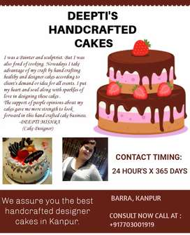 DEEPTI'S HAND CRAFTED CAKES