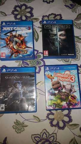 PS4 Games to go !!