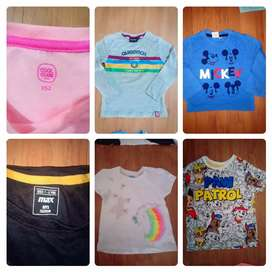 Boys and girls multy branded OG t shirts