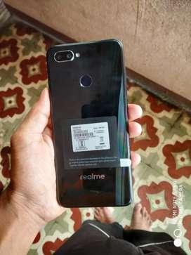 Realme u1 3-32 arjunt sell 8,000 price