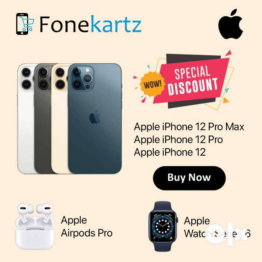 Apple iPhone 12 Pro Max, 12 Pro & 12 Discount Offer 0