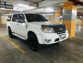 Ford everest putih xlt diesel matic 2012 bandung