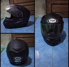 Helm KYT K2 Rider Black Doff